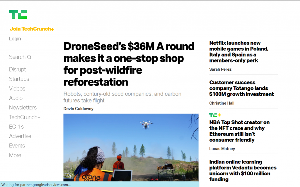 techcrunch Best Tech News Sites - thecodinghouse.in